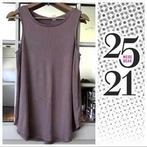 Tops - Soft rose colored tank